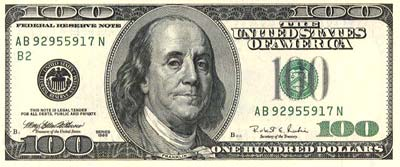 Presidente Benjamin Franklin.