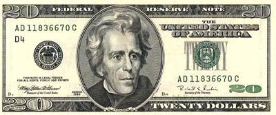 Presidente Andrew Jackson.