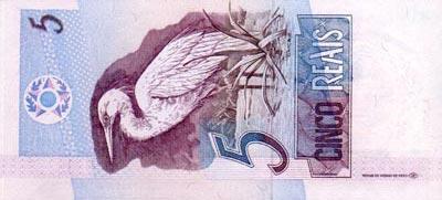 Moeda do Brasil, dinheiro de Reais brasileiros