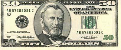 Presidente Ulysses S. Grant.