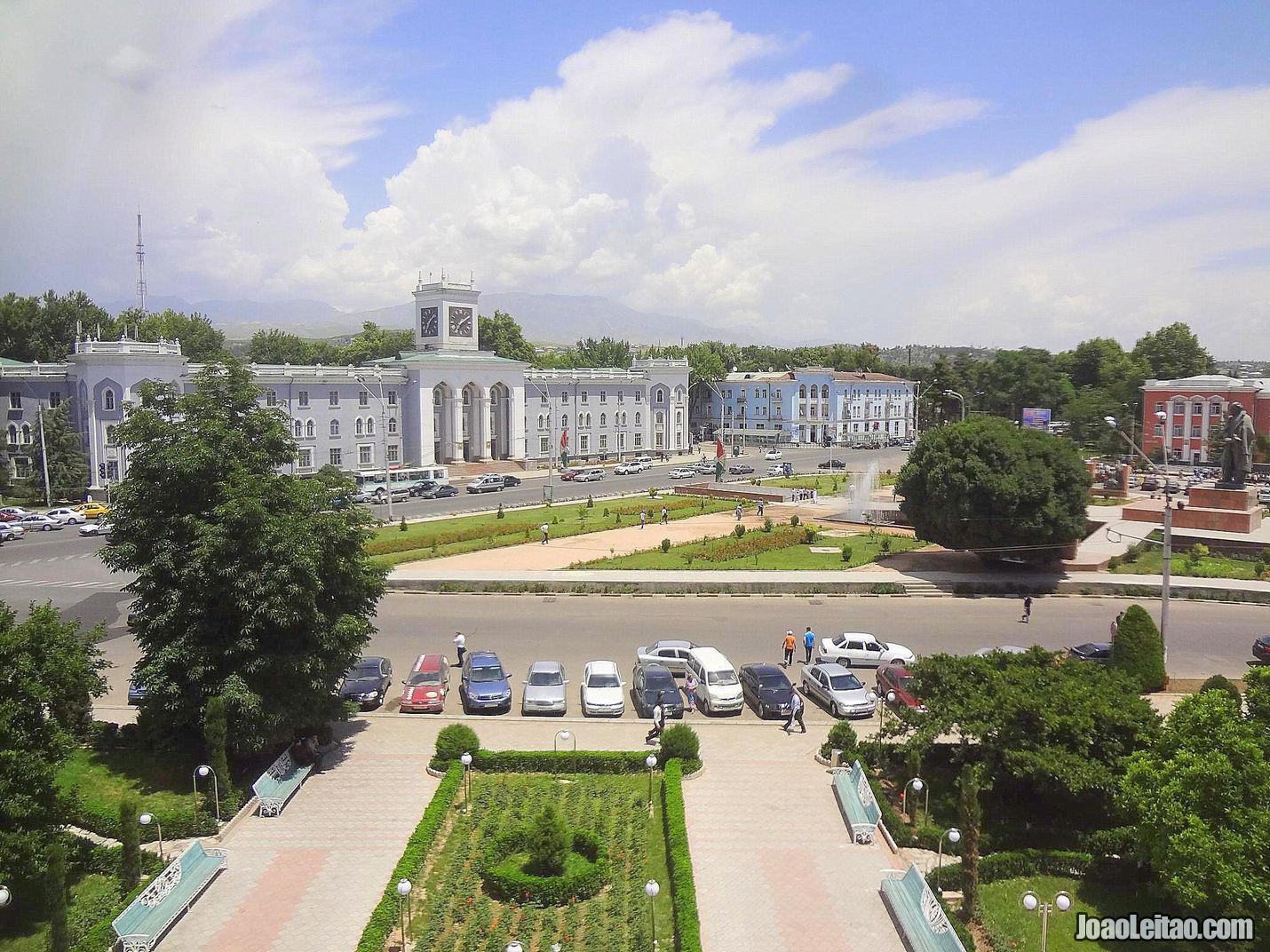 Visitar Duchambé Tajiquistão