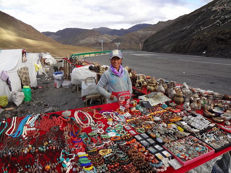 Estrada Gyantse até Lhasa, Tibete 3