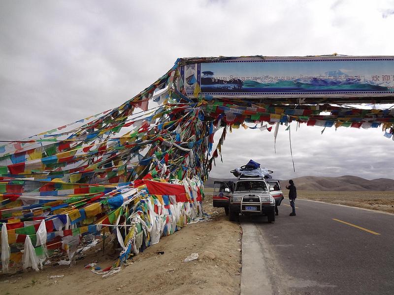 Passo de Montanha Lalung La 5050m, Tibete 2