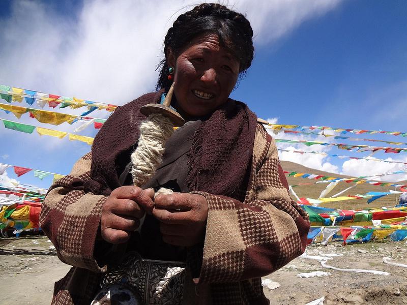 Passo de Montanha Gyatso La 5248m, Tibete 1