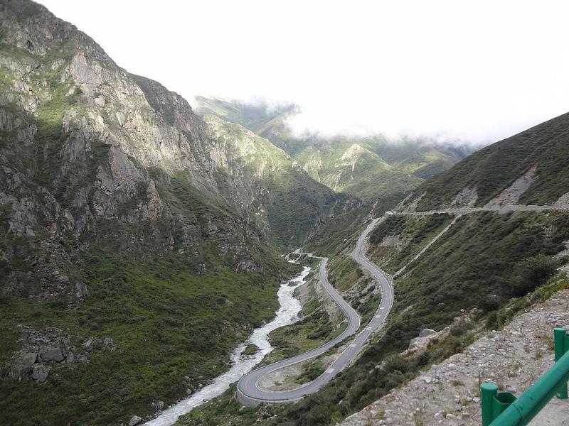 Estrada Zhangmu até Nyalam, Tibete 3
