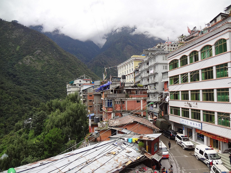 Fotografias da Vila Zangmu, Tibete 32