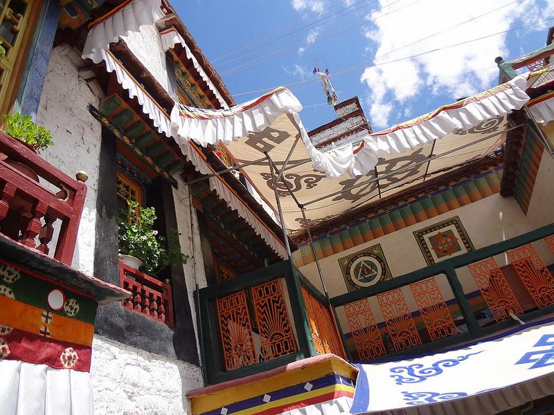 Hotel Trichang Labrang em Lhasa, Tibete 1