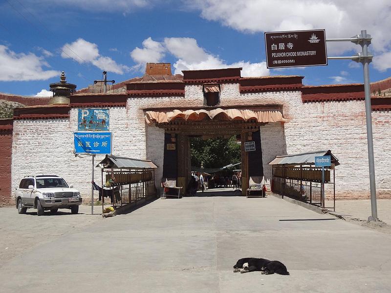 Mosteiro Palcho em Gyantse, Tibete 13