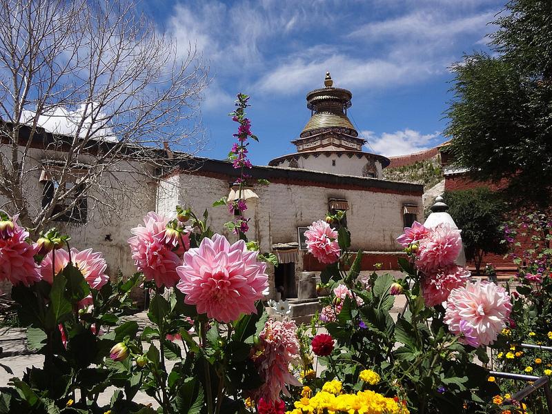Cidade de Gyantse, Tibete 17