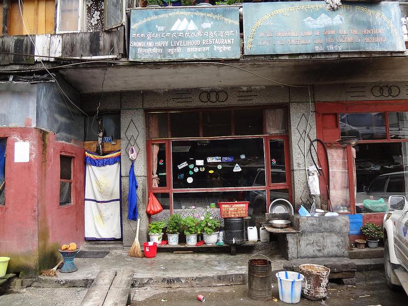 Restaurante Snowland Happy Livelihood em Zangmu, Tibete 30