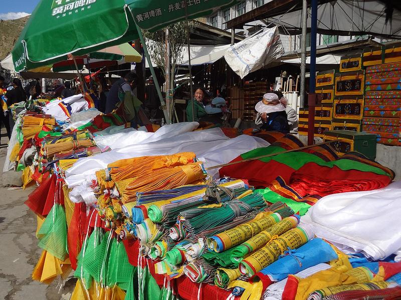 Mercado de Shigatse, Tibete 1