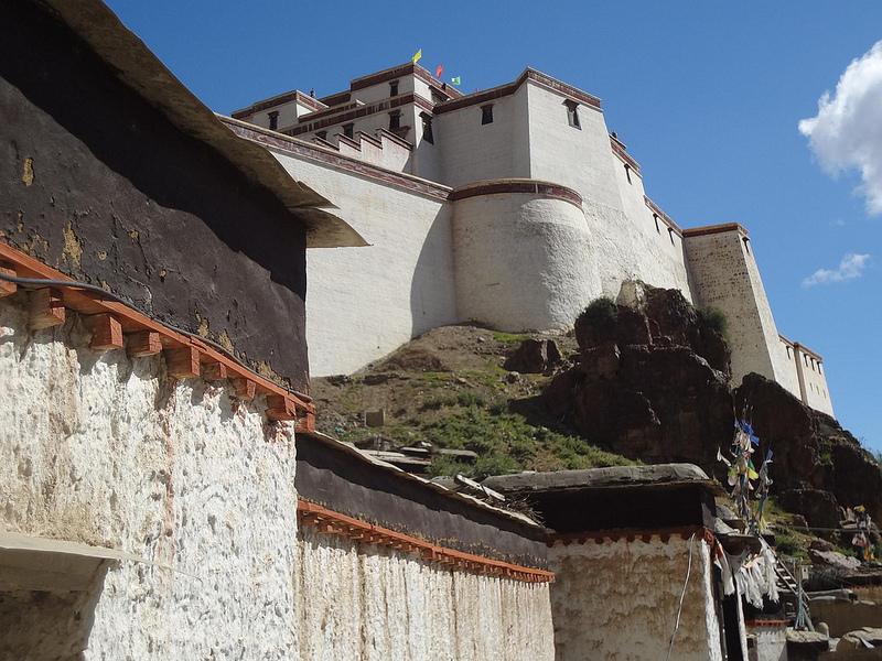 Cidade de Shigatse, Tibete 1