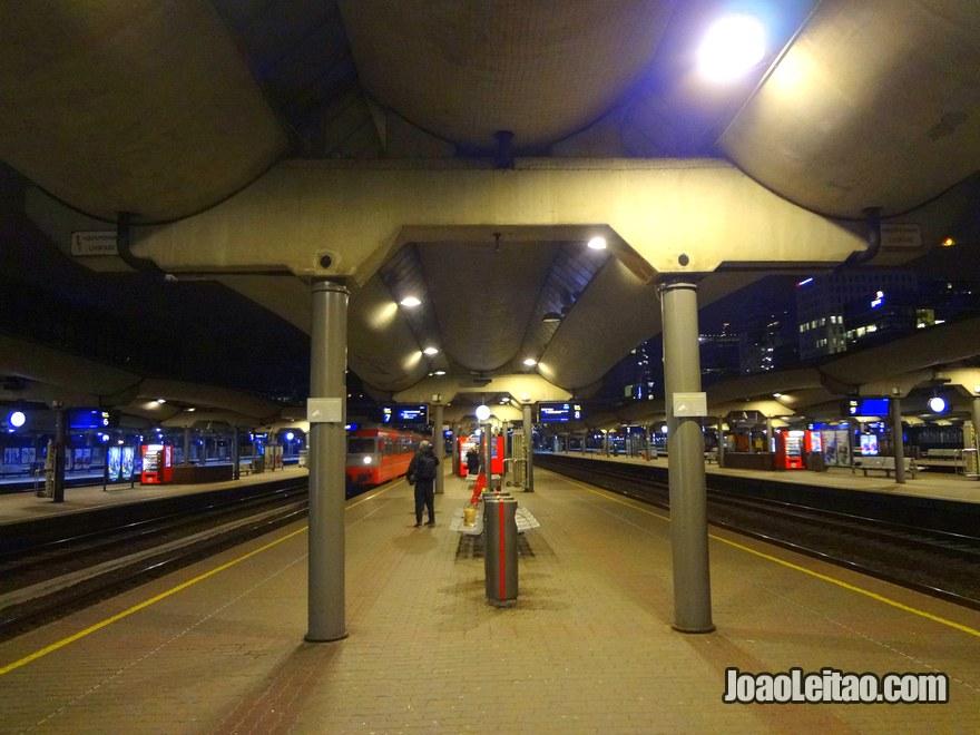 Estação Comboios em Oslo