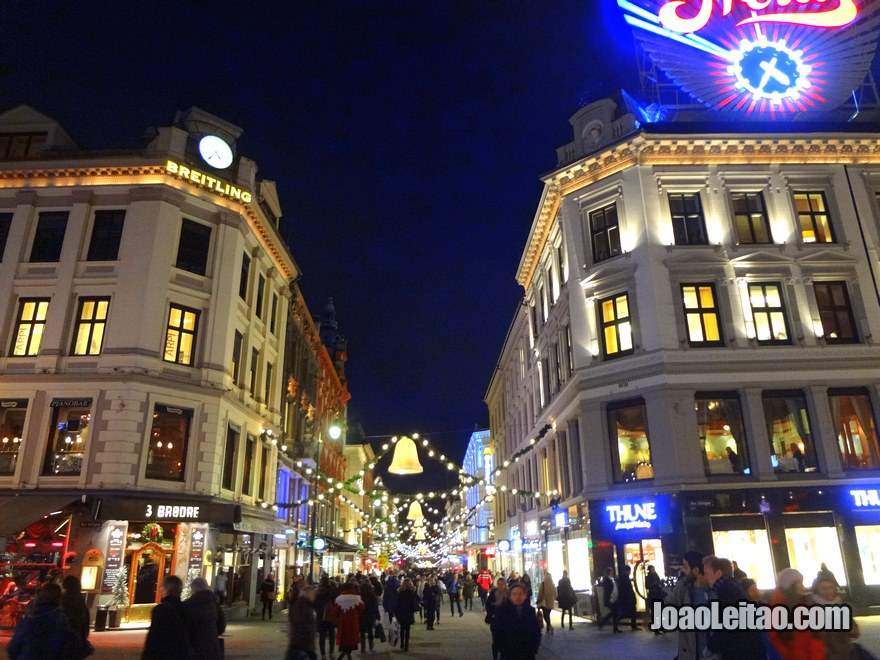 Foto de Oslo de noite