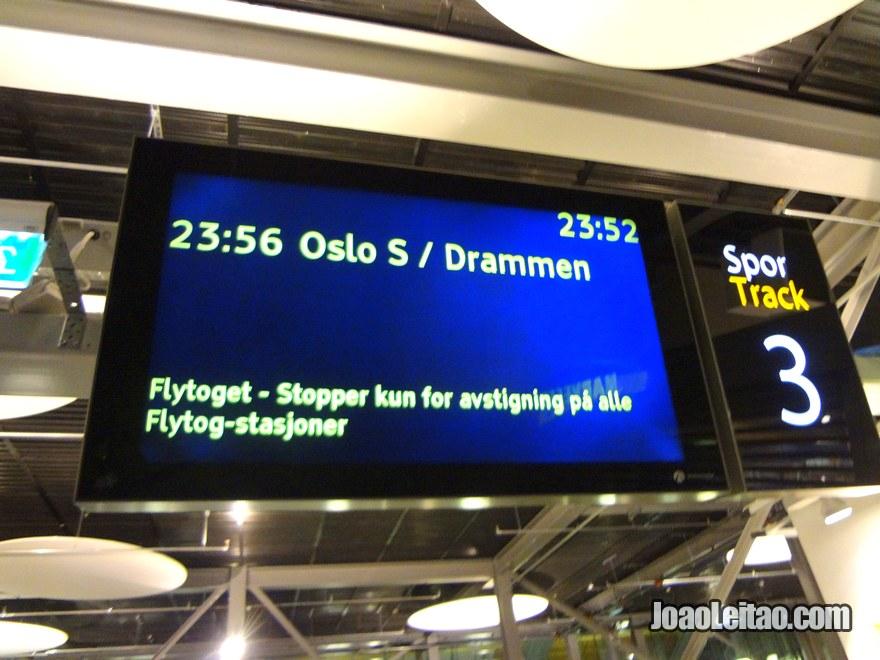 Transporte Aeroporto Oslo