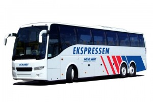 Viajar de autocarro onibus ate a Noruega