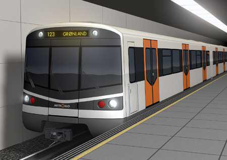 Metro Oslo, Noruega