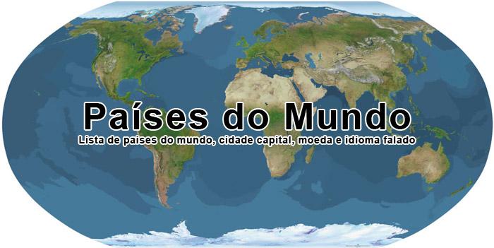 Países do Mundo