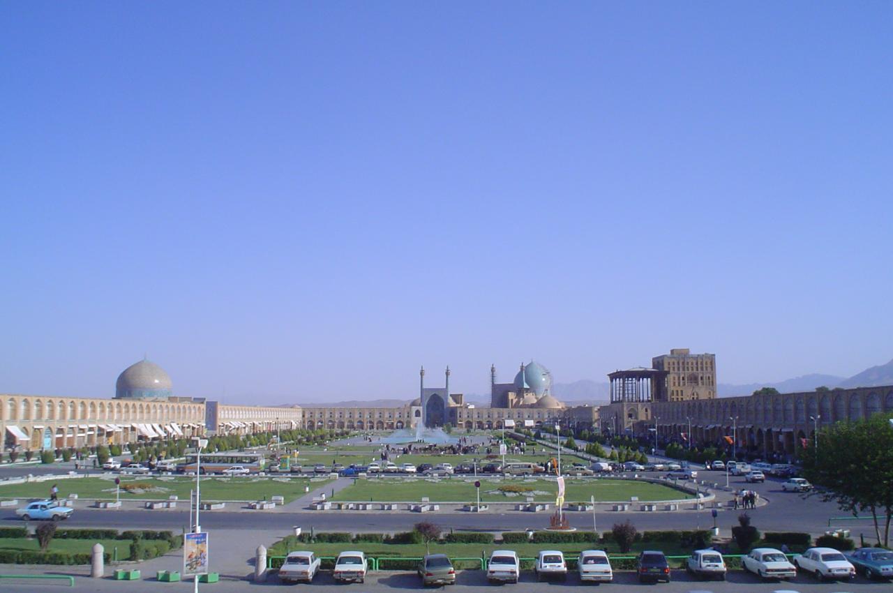 Praça Imam em Ispaão Irão 2