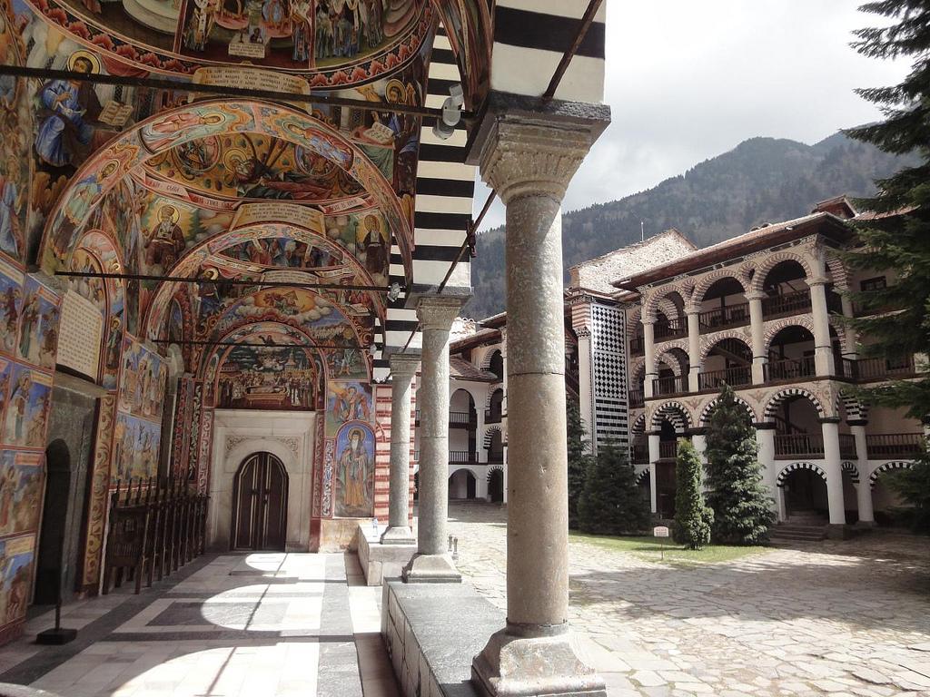 Fotografias Mosteiro Rila UNESCO Bulgária 3