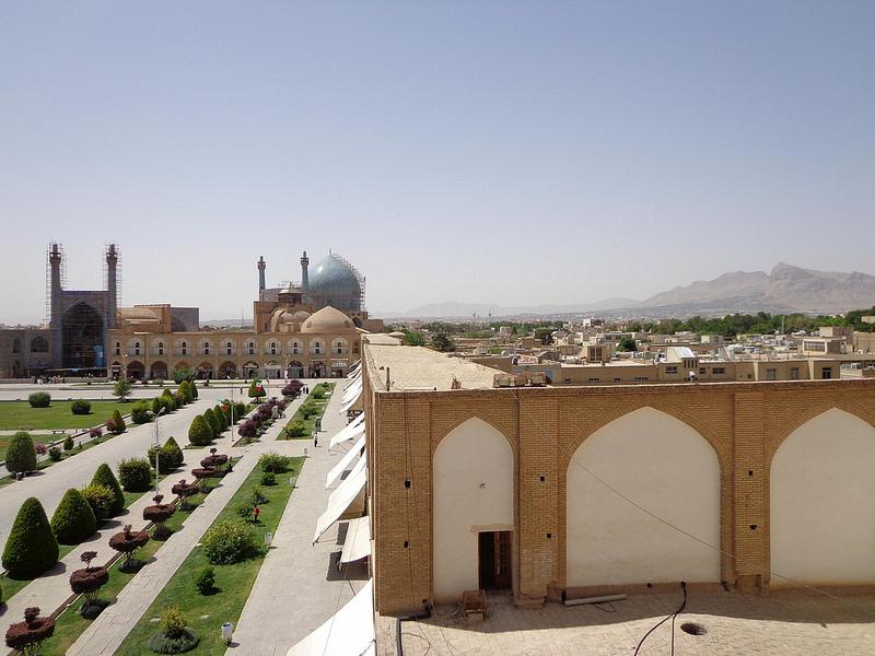 Fotografias da Praça Iman UNESCO Isfahan, Irão 24
