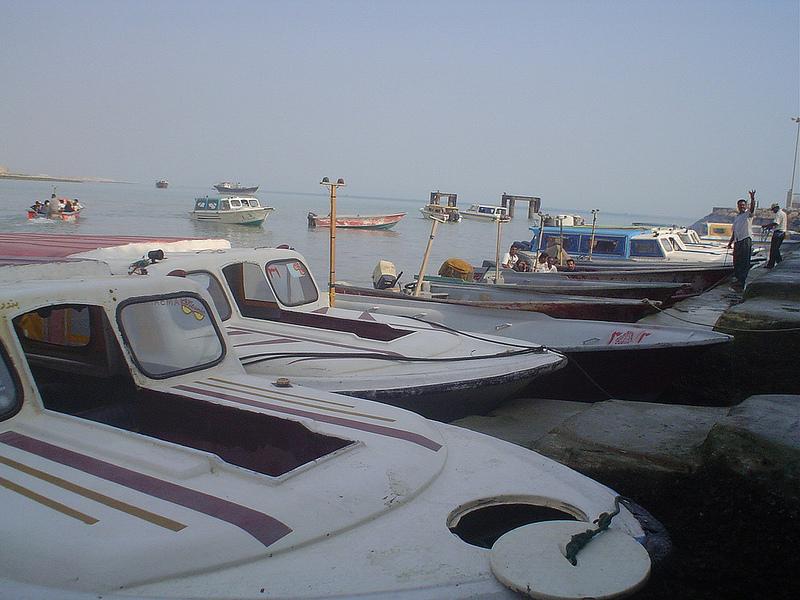 Barco Bandar-e Abbas até à Ilha de Qeshm Irão 3