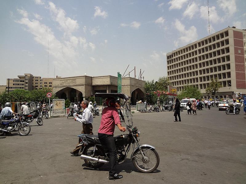 Táxis-Moto em Teerão, Irão 2