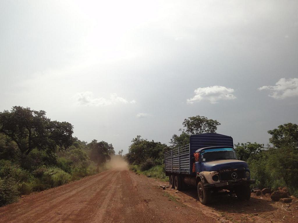 Estrada desde Juba até fronteira com RD do Congo 2