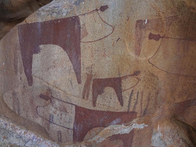 Pinturas Rupestres de Laas Gaal, Somalilândia 2