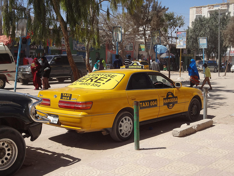 Táxis em Hargeisa, Somalilândia 3