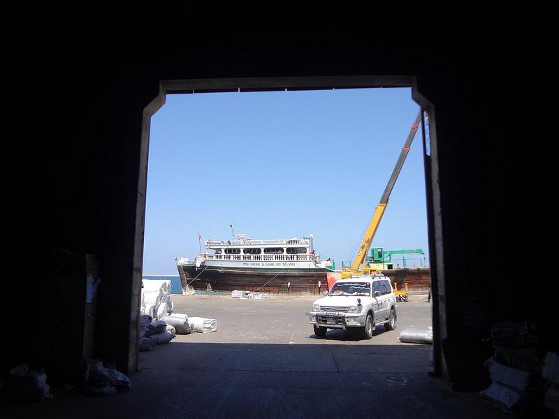 Fotografias do porto de Berbera, Somalilândia 1