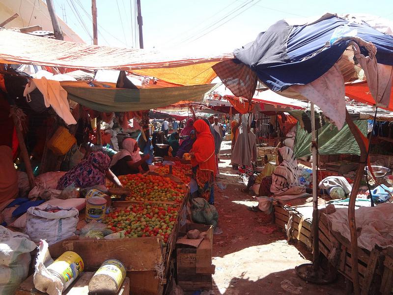 Fotografias do Mercado Bacadlaha, Hargeisa Somalilândia 3