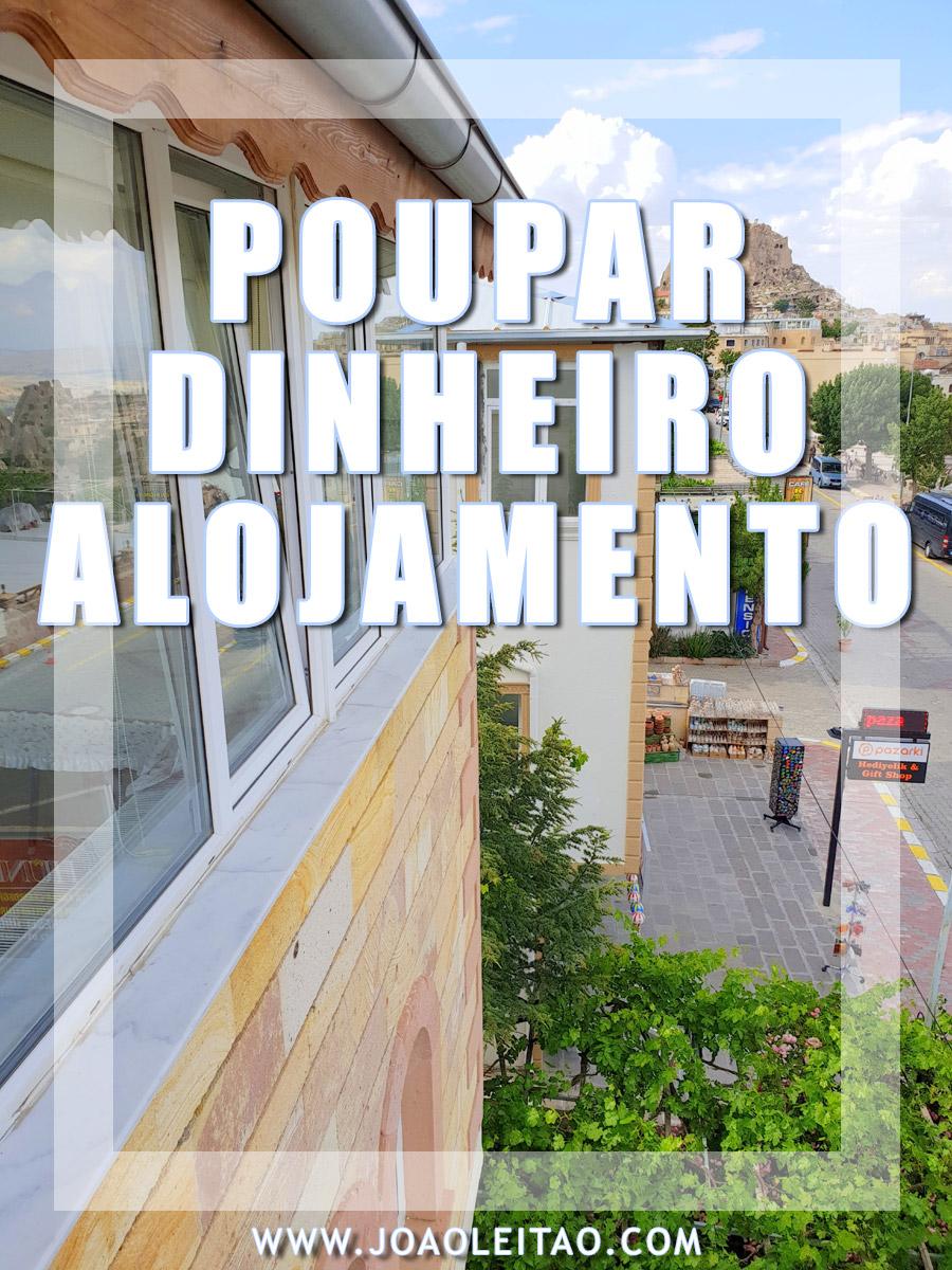 POUPAR DINHEIRO EM ALOJAMENTO