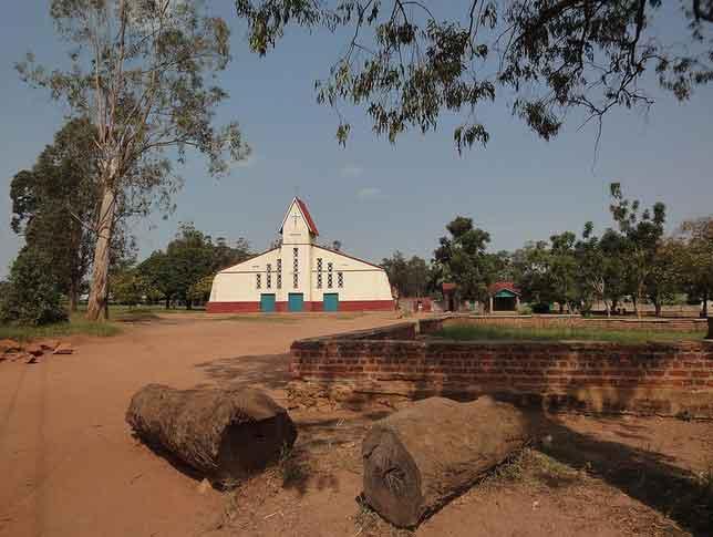 Igreja de Aru na Republica Democratica do Congo