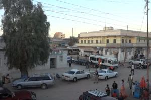 Rua em Hargeisa na Somalilandia