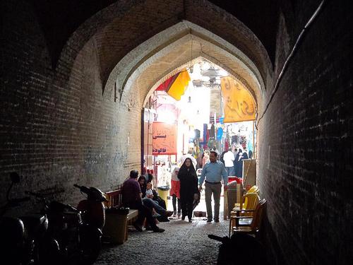 Fotografias dos mercados de Shiraz, Irão 1