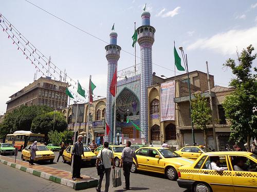 Fotografias de Teerão, Irão 19