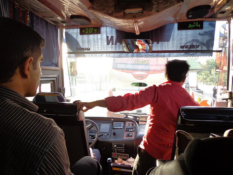 Autocarro Teerão até Mashhad, Irão 2