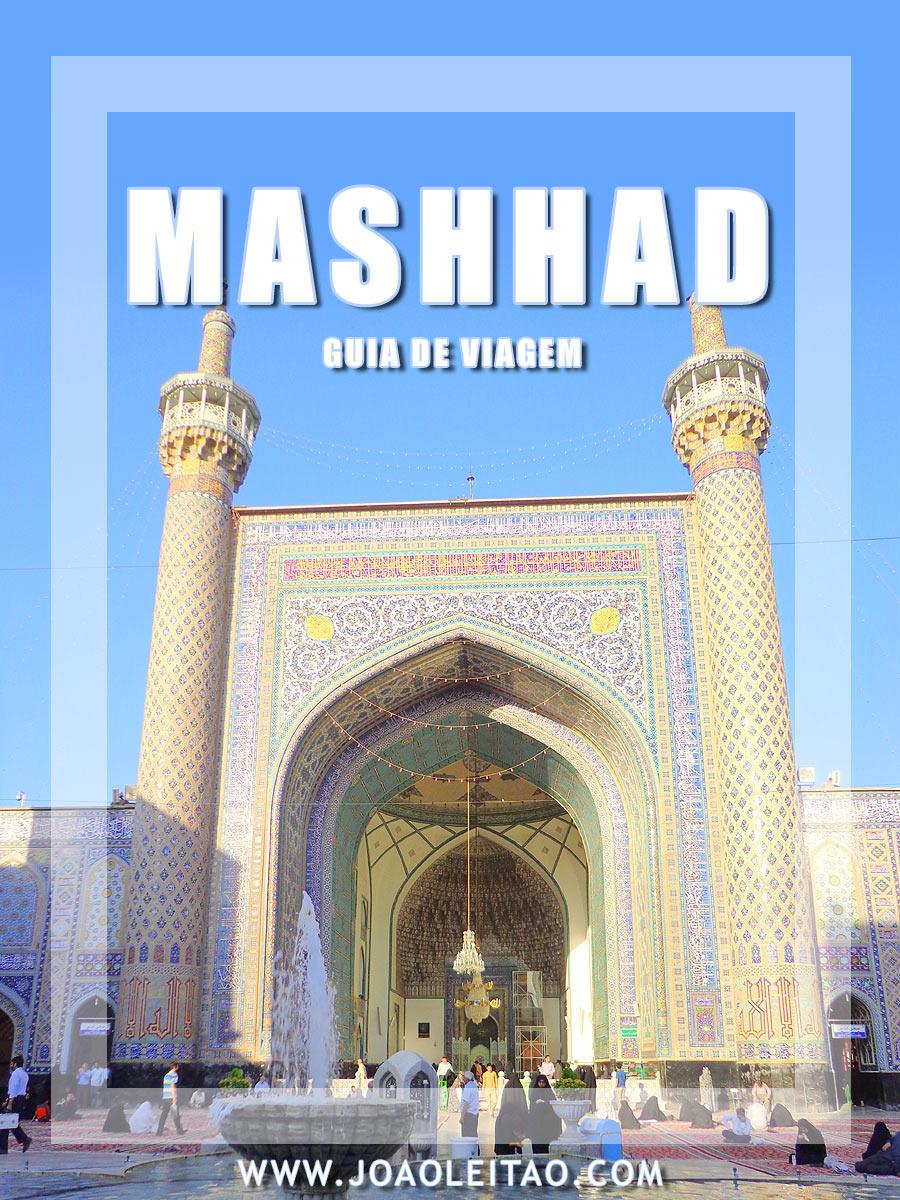 VISITAR MASHHAD