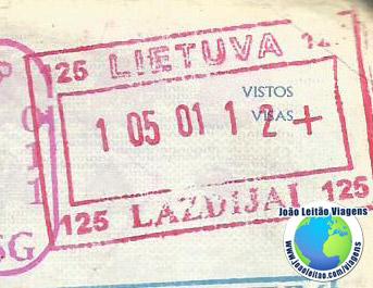 Carimbo Lituania