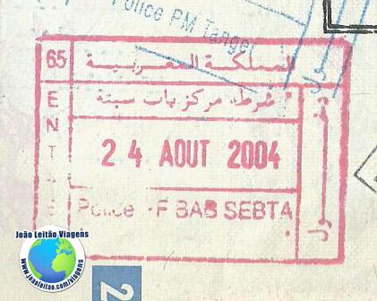 Carimbo Marrocos (vermelho)