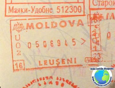 Carimbo Moldavia