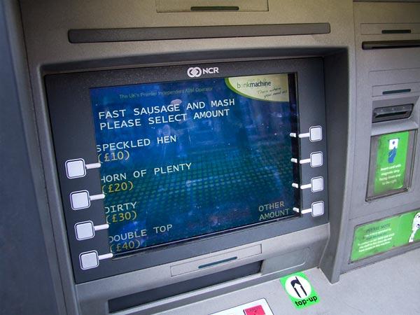 Multibanco em Londres