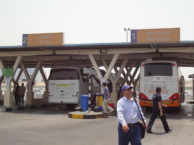 Estação Autocarro Al Jubail Sharjah Emirados 60