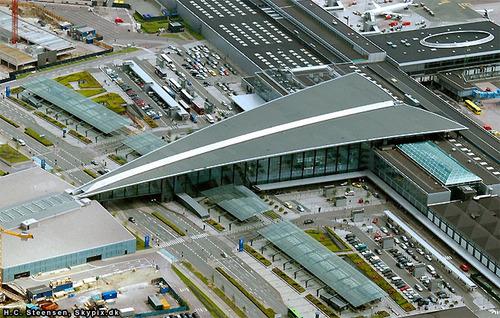 Mapas do Aeroporto de Copenhaga, Dinamarca 10