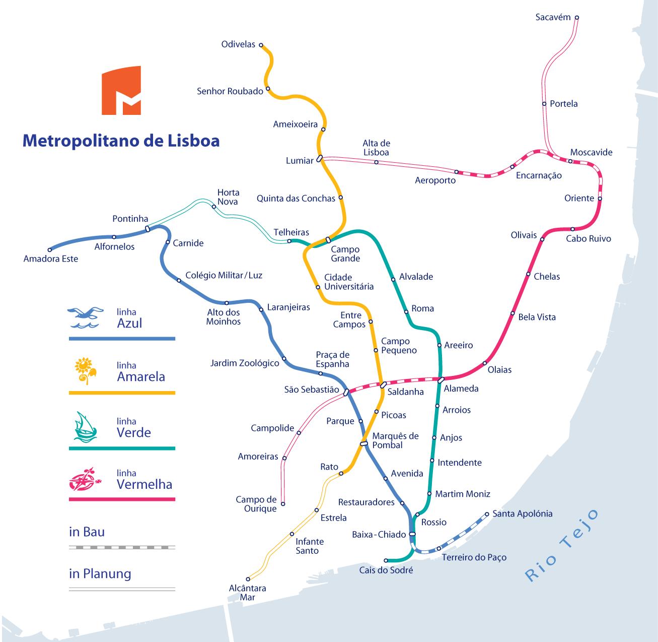 Metro de Lisboa - Guia de Sobrevivência: Info, Mapas, Dicas 1