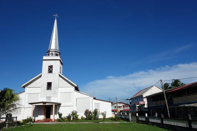 Fotografias da Igreja Anglicana, New Amsterdam Guiana 2