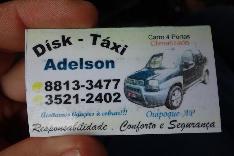 Dísk-Táxi Adelson Oiapoque