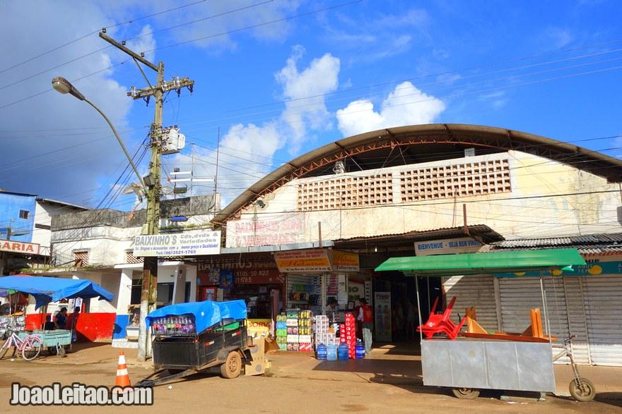 O Mercado Central de Oiapoque