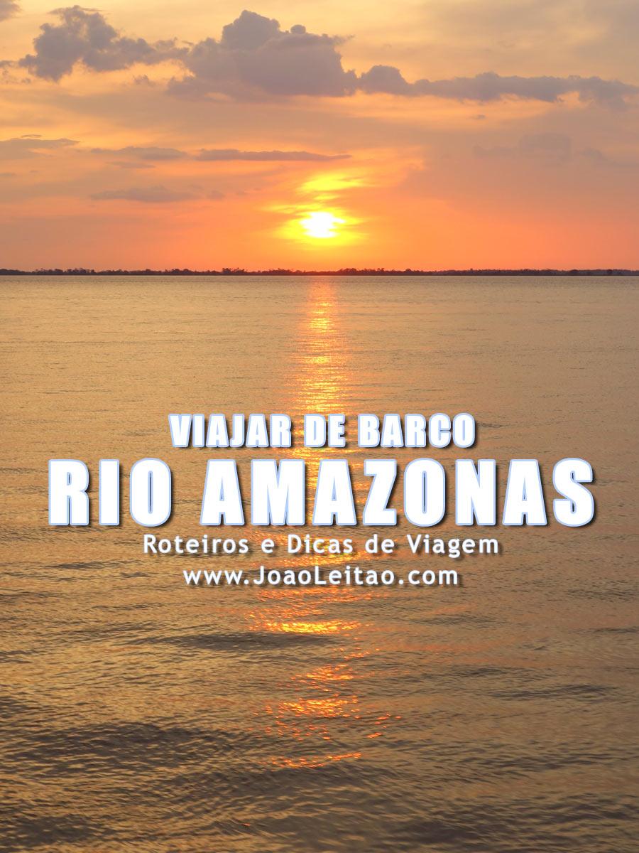 Como poupar dinheiro a viajar de barco no Rio Amazonas